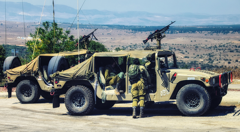 IDF Golan heights